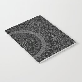 blackwhite mandala Notebook