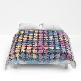 Sketchy Dots Comforters
