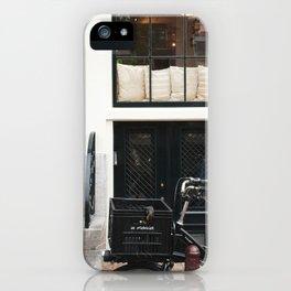 Amsterdam bike iPhone Case