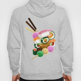 Sushi and Sweets - Full design Hoody
