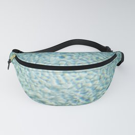 Poolside | Blue turquoise poolwater in the sun | Summer fine art photography print Fanny Pack
