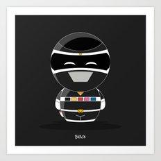 ChibizPop: I.S. Black Art Print