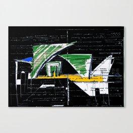 Archifantasy #2  Canvas Print
