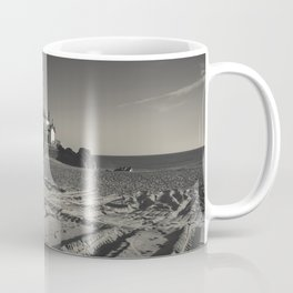 Beach Chapel (B&W) Coffee Mug
