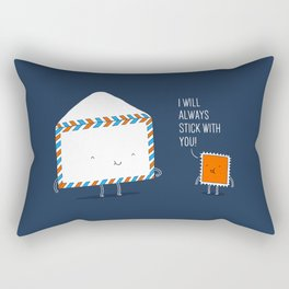 Stick with you Rectangular Pillow
