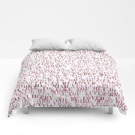 Sentences of Love Red Comforters