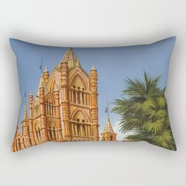 vintage Palermo Sicily Italian travel ad Rectangular Pillow