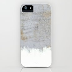 Painting on Raw Concrete Slim Case iPhone (5, 5s)