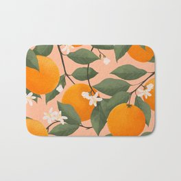 fresh citrus Bath Mat