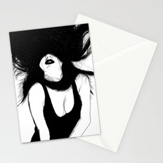 Pin Up White Version Stationery Cards