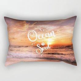 The Voice of the Ocean Rectangular Pillow