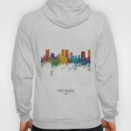 Fort Worth Texas Skyline Hoody