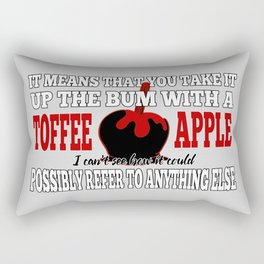 Toffee Apples Rectangular Pillow