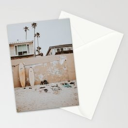 lets surf viii / san diego, california Stationery Cards