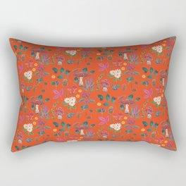 Autumn garden plants Rectangular Pillow