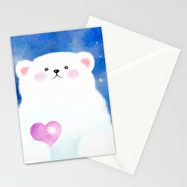 Little Love Bear Stationery Cards