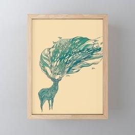 How Good It Feels Framed Mini Art Print