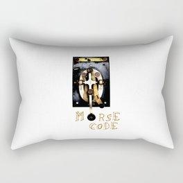 Telegraph Me, Won't You? Rectangular Pillow