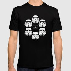 Stormtrooper pattern X-LARGE Black Mens Fitted Tee