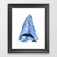 The Living Iceberg Framed Art Print