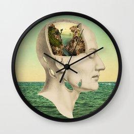 Peace of Mind Wall Clock