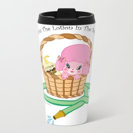 It puts the lotion in the basket. // Silence of the Lambs Metal Travel Mug