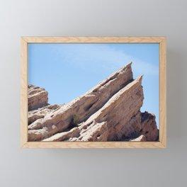 Vasquez Rocks Framed Mini Art Print