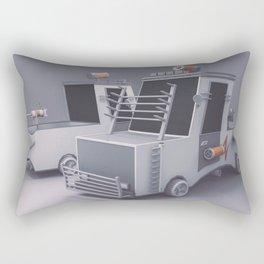 The Defender Car Rectangular Pillow