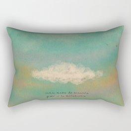 Nube para la melancolía Rectangular Pillow