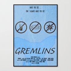 GREMLINS Canvas Print