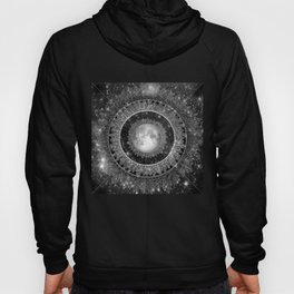 Major Tom (floating in my tin can, far above the Moon) Hoody