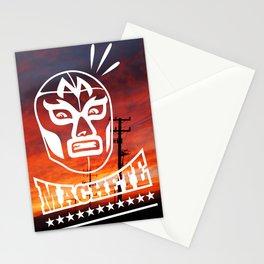 Machete Mask (Askew) Stationery Cards