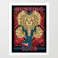 Hunting Club: Gammoth Art Print