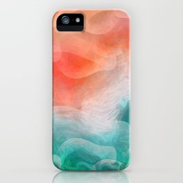 """""""Coral sand beach and tropical turquoise sea"""" iPhone Case"""