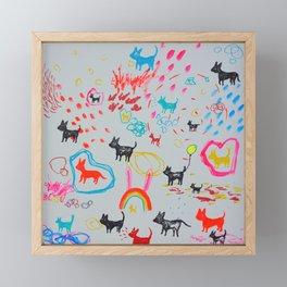 Good News! Framed Mini Art Print