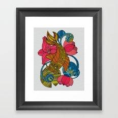 Koi Palloi Framed Art Print