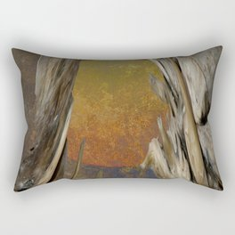 Surreal Planet Rectangular Pillow
