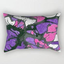 Abstract splashing Rectangular Pillow