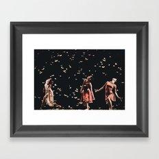 Dancing finale Framed Art Print