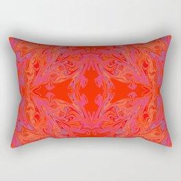 swirling heat Rectangular Pillow