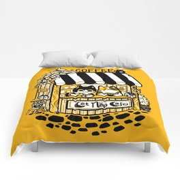 Cat Nap Cafe Comforters