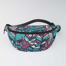BOHO---FEATHER Fanny Pack