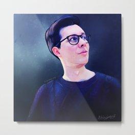Phil Lester Sweater | Digital Painting Metal Print