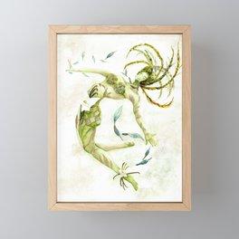 Homo Sapiens Plantae Future Human 2.0 Framed Mini Art Print
