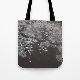 Bosston - City Map I Tote Bag