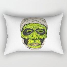 Mummy Head Rectangular Pillow