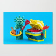 Happy Independence Day Canvas Print