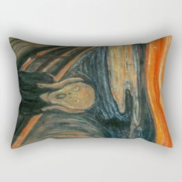The Scream - Edvard Munch Rectangular Pillow