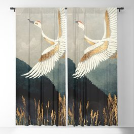 Elegant Flight Blackout Curtain