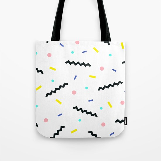 Memphis pattern 59 Tote Bag